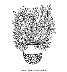 Free Coloring Pages For Adults - Flower, Mandala ⋆ Kids Activities Rose Coloring Pages, Mothers Day Coloring Pages, Spring Coloring Pages, Mandala Coloring Pages, Free Coloring, Adult Coloring Pages, Simple Paper Flower, Grunge, Flower Step By Step