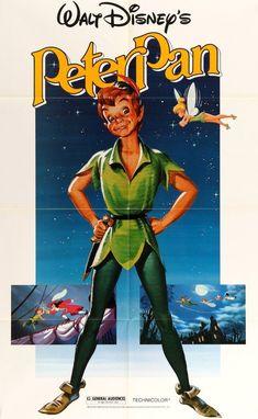 Peter Pan (1953) Original R1982 One Sheet Movie Poster #disney #vintagedisney #vintage #vintagephoto #disneyland
