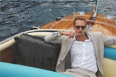 Alexander Skarsgård stars in Tumi's new campaign to promote its Latitude collection.