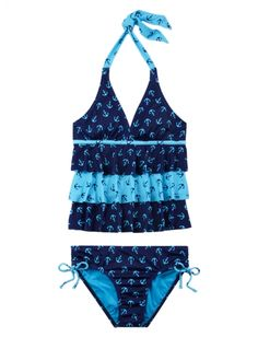 Anchor Tankini Swimsuit | Girls Swimsuits Swimwear | Shop Justice