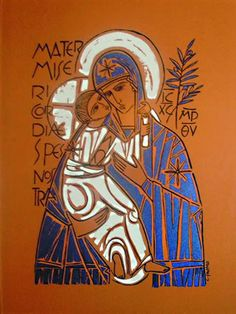 Aparecida - Cláudio Pastro                                                                                                                                                                                 Mais Madonna Art, Madonna And Child, Blessed Mother Mary, Blessed Virgin Mary, Religious Icons, Religious Art, Dom Bosco, Madona, Woodcut Art