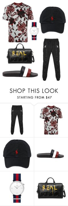 """""""street meets high fashion"""" by thebestkeptsecret on Polyvore featuring Versus, McQ by Alexander McQueen, Polo Ralph Lauren, Moncler, Gucci, men's fashion and menswear"""