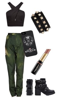 """""""Outfit Tag!"""" by first-class-whovian ❤ liked on Polyvore featuring Forever New, Dries Van Noten, Valentino, women's clothing, women, female, woman, misses and juniors"""