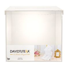 Clear+Lucite+Wedding+Card+Box+with+Lift-Off+Top