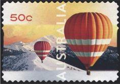 Stamp: Mount Feathertop (Australia) (Balloon Flight) Mi:AU 3011,Yt:AU 2887,Sg:AU 2996