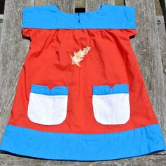 Girls Shooting Star Pocket Dress