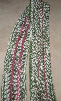 70 minute scarf, really? #Crochet this #easy scarf up in no time.