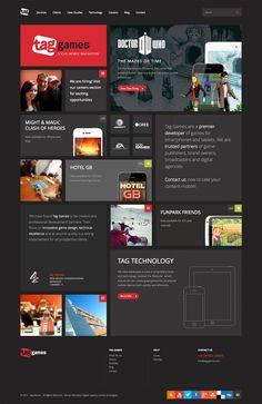 Tag Games - new responsive web design | Digital Agency London & Glasgow | Digital Strategy
