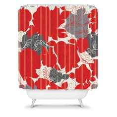 Khristian A Howell Woven Polyester Rendezvous 4 Shower Curtain