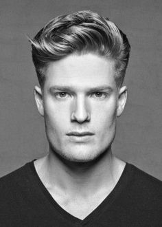 Men's Hairstyles: The Short Quiff. Ask your hairdresser to keep your hair long enough on top so that it buckles, and keep the sides short, around 1 cm long.
