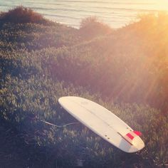 """Because sometimes you only need one. Popped in a new 7.5"""" single fin. Going old styles."""