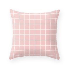 Pantone Color of the Year Rose Quartz pillow rose quartz decor rose quartz pillow grid pillow pink cushion grid cushion pink pillow