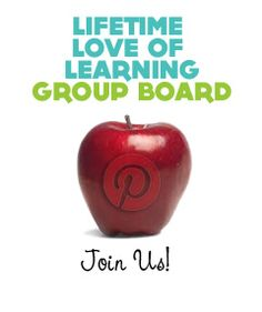 {Kid's Educational Activities} We have a wonderful collection of bloggers sharing activities on the board. Join in on the fun & sharing. Click the apple to see parents sharing their favorite kid's pins. Are you interested in joining us? The more the merrier! :-)