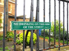 No Drinking on This Side of the Street (Windsor)