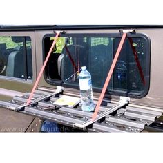 Multi-purposing, window protection, table, traction grips