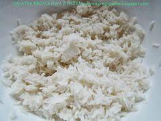 PotrawyRegionalne: SAŁATKA BROKUŁOWA Z RYŻEM Feta, Grains, Dairy, Cheese, Seeds, Korn