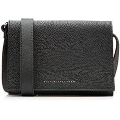 Victoria Beckham Mini Leather Shoulder Bag (2,150 MYR) ❤ liked on Polyvore featuring bags, handbags, shoulder bags, black, genuine leather shoulder bag, leather handbags, real leather purses, shoulder handbags and genuine leather handbags
