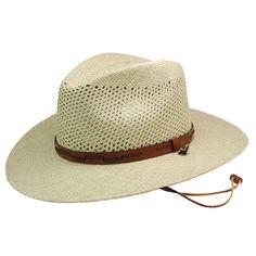 140d7339 Stetson Airway Panama Hat | DelMonico Hatter $59.50 Stetson Straw Hats, Panama  Hat Men,