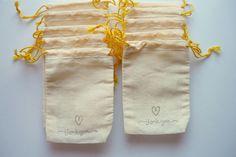 DIY Stamped Favor Bags