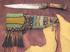 leather wrap knife handle - Google Search