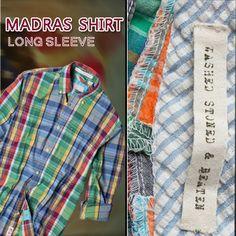 Original Vintage Madras Shirt