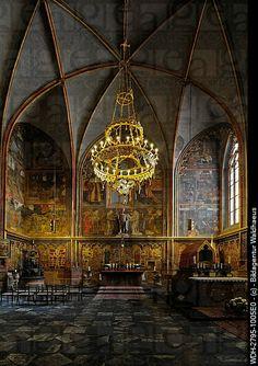 Side Chapel, St. Vitus Cathedral, Prague Castle, Castle District, Hradschin, Prague, Czech Republic, Europe