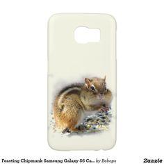 Feasting Chipmunk Samsung Galaxy S6 Cases