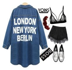 """Yoins 1"" by hungry-unicorn ❤ liked on Polyvore featuring Milly, yoins, yoinscollection and loveyoins"