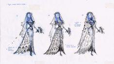 Corpse Bride costume concepts