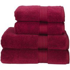Supreme Hygro US Bath Towel Color: Cherry ($39) ❤ liked on Polyvore featuring home, bed & bath, bath, bath towels, christy bath towels and colored bath towels