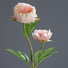 Bujori artificiali roz - 60 cm