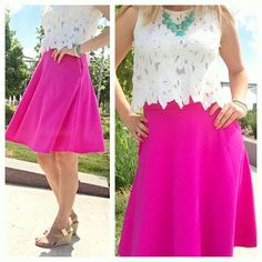 Loving this bright and summery outfit worn by  @kayrae33!