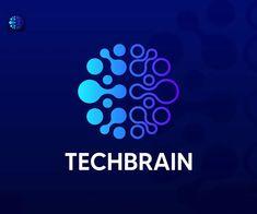 Tech Brain Logo Template
