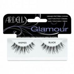89e8d0bdb21 ARDELL Glamour Wispies Lashes in Black 1 Pair Eyelash Conditioner, Black  Lashes, January 22