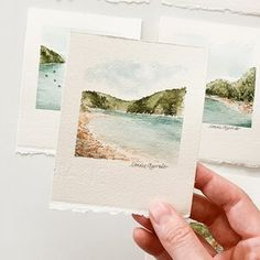 Watercolor Sketch, Watercolor Cards, Watercolor Landscape, Landscape Art, Watercolor Flowers, Watercolor Paintings, Watercolour Drawings, Watercolor Water, Watercolours