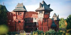 Park Mirakulum Wooden Castle, Baby Family, Amusement Park, Prague, Wander, Climbing Frames, Trail, To Go, Child Baby