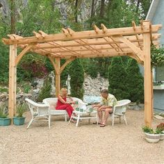 outdoor pergola contemporary no living today shed kits gazebo for sale. D Cedar Gazebo canopy canopy pergola breeze pergola x kit pergola kits breeze pergola outdoor living today gazebo. D Solid Wood Patio. Yardcraft Screen Kit For 12 Ft Octagon Gazebo Diy Pergola, Diy Arbour, Cedar Pergola, Pergola Garden, Small Pergola, Pergola Canopy, Pergola Attached To House, Deck With Pergola, Outdoor Pergola