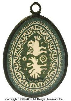 Stained glass Easter Egg Pysanky # UA01-649 from Ukraine. http://www.allthingsukrainian.com