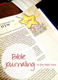 This year let's practice lectio divina alongside Bible journaling. Bible journaling will look differently depending on how you make it.