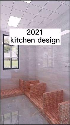 Kitchen Cupboard Designs, Design Your Kitchen, Kitchen Layout, Interior Design Kitchen, Small House Design, Dream Home Design, Home Design Plans, Home Decor Boxes, Home Design Living Room