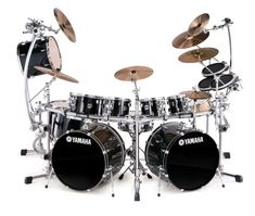 Yamaha Drums in crease the size of the toms by two each a shot and I think I have found heaven Pearl Drums, Music Machine, Xjr, How To Play Drums, Drummer Boy, Intelligent Design, Drum Kits, Music Guitar, Animals