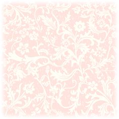 Free floral white and pink vintage scrapbooking paper