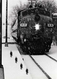 "Untitled (Train)    ""A lyric I wrote best describes for me what is going on here:    Son of a son of a son of a farmer.  I've watched the clock come to dominate my life  and each morning, like Jonah, I climb into the whale.  Its power transforms me for better or worse.""    --Scott Mutter, Surrational Images"