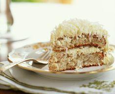 kokuszos-mandulas-suti Krispie Treats, Rice Krispies, Vanilla Cake, Foods, Food Food, Food Items, Rice Krispie Treats