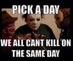 Pick a day....