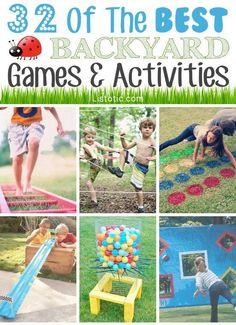 32 Fun DIY Backyard Games | DIY Cozy Home