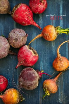 Perfectly Roasted Beets: Let's bake Perfect Roasted Beets. Beet Recipes, Vegetable Recipes, Vegetarian Recipes, Cooking Recipes, Healthy Recipes, Cooking Tips, Healthy Food, Recipies, Roasted Beets Recipe