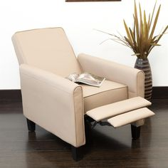 Shop Best Selling Home Decor Darvis Bonded Leather Recliner Club Chair At  Loweu0027s Canada. Find