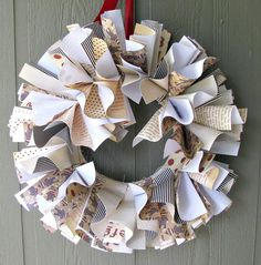 Sock Monkey CUSTOM Scrapbook Page Wreath Baby by debbieEzzie, $60.00