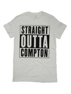 クリックすると新しいウィンドウで開きます Straight Outta Compton, Mens Tops, T Shirt, Supreme T Shirt, Tee Shirt, Strait Outta Compton, Tee